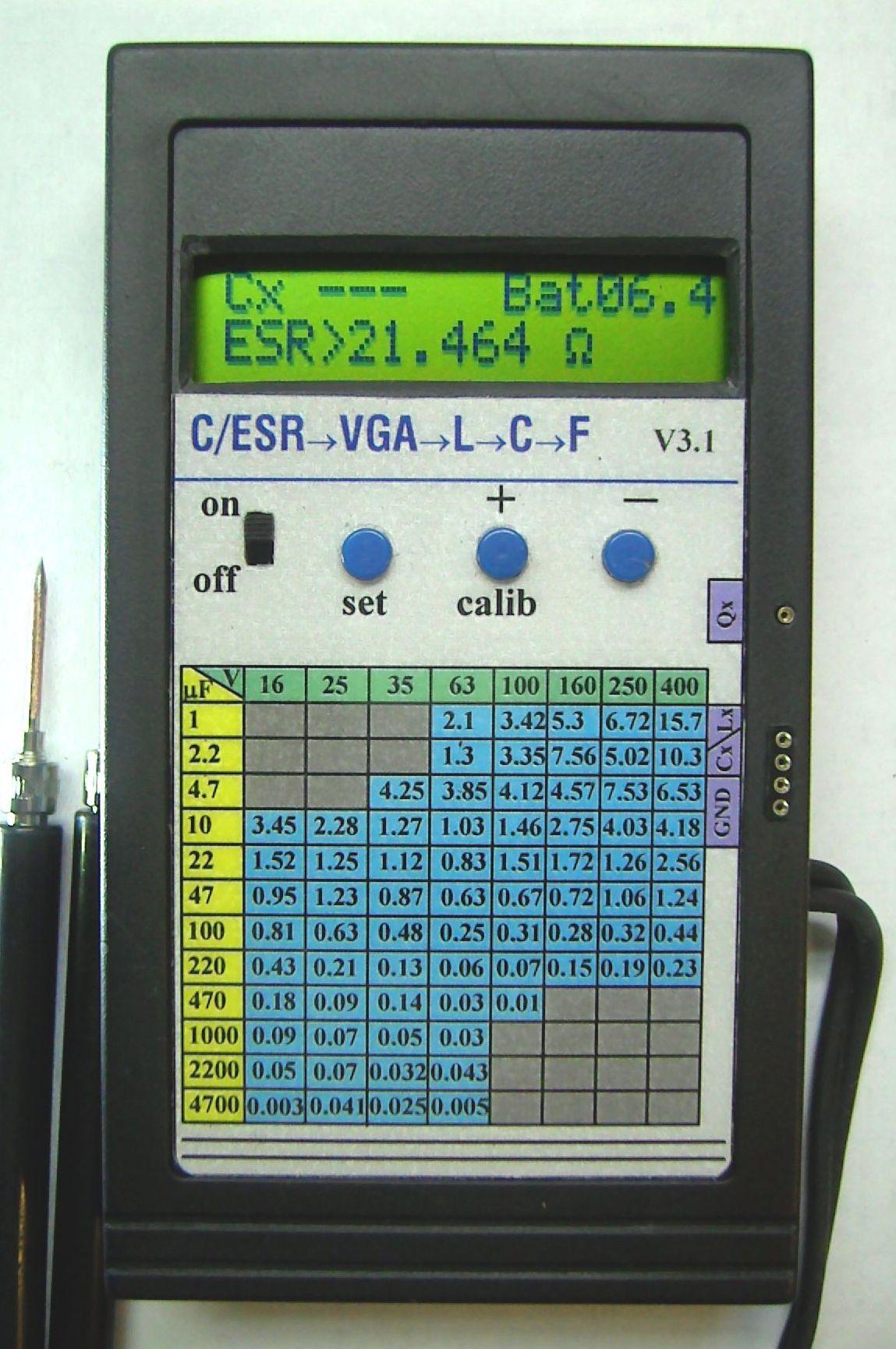 Схема для проверки электролитических конденсаторов фото 855
